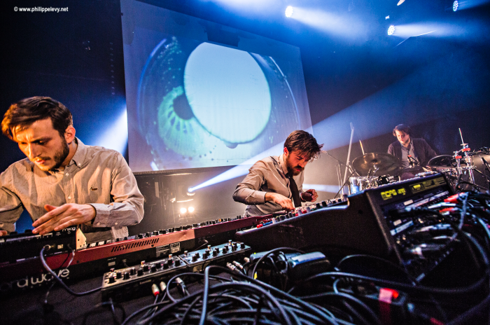nuit electro 2 trio berlinois Brandt Bauer Frick