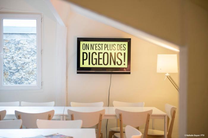 ON N'EST PLUS DES PIGEONS
